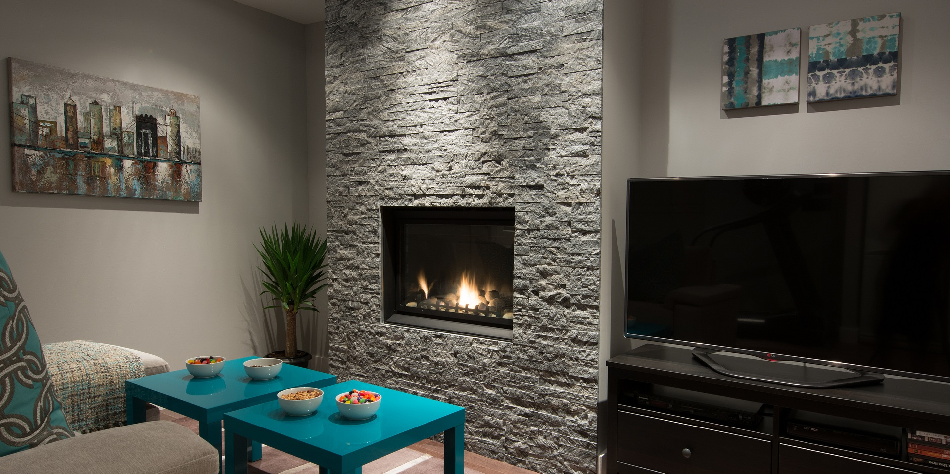 Grey Wolf 3D Panels by ErthCoverings
