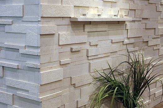 Coral White  Strips by ErthCoverings
