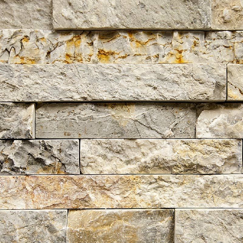 Gray Mountain Grey Ledgestone Panels by ErthCoverings