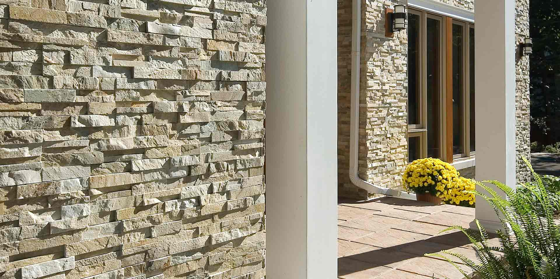 Mountain Grey Ledgestone Panels by ErthCoverings