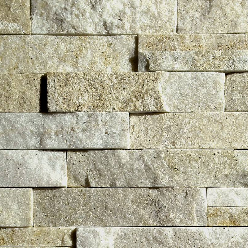 Cream Cream Quartzite 3D Panels by ErthCoverings