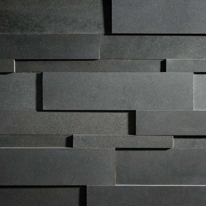 Charcoal Lavastone Strips by ErthCoverings